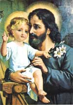 Good St. Joseph, Foster-Father of the Child Jesus, pray for us!